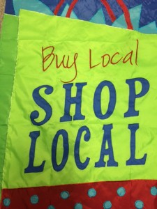 Shop Local flag